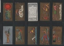 Tobacco cards Ancient Egypt 1928 cigarette cards set